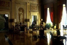 Villa Bonaparte : Le grand salon